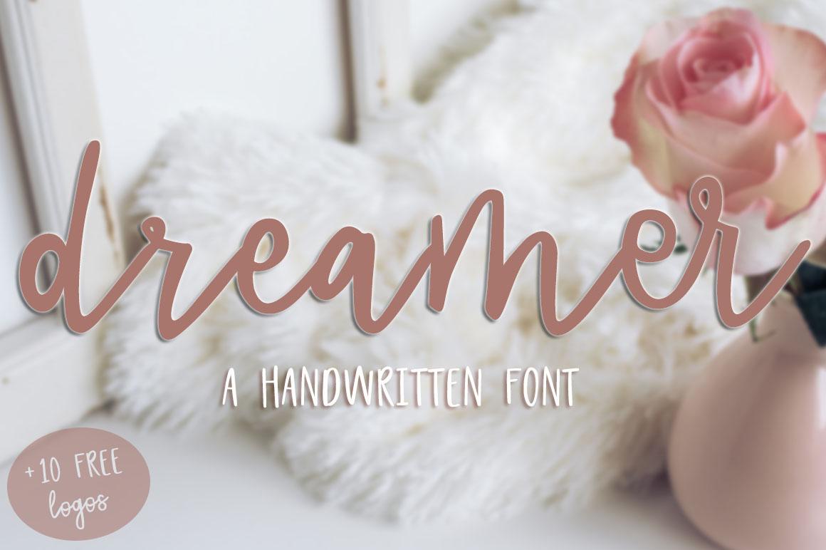 Dreamer Script + 10 FREE logos example image 1