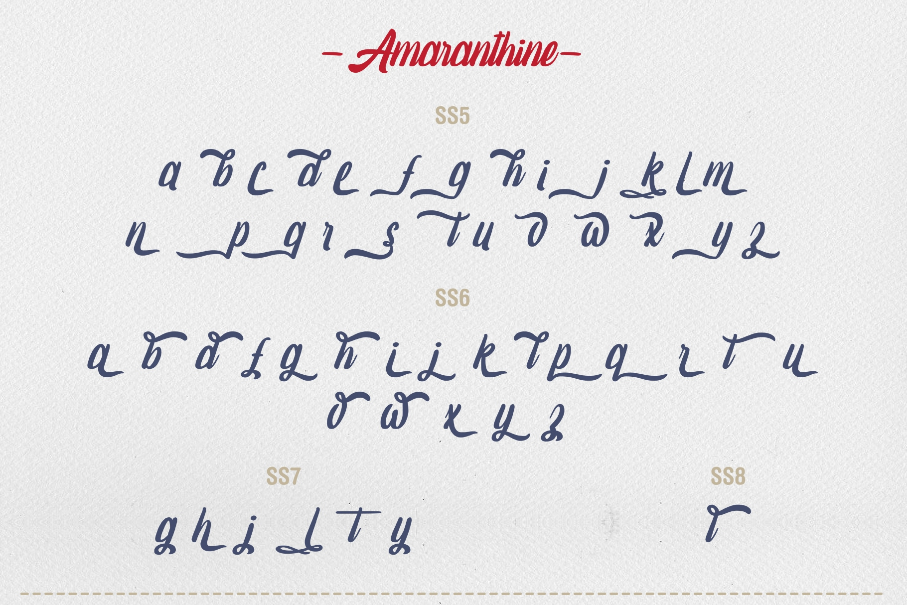 Amaranthine Script Font example image 11