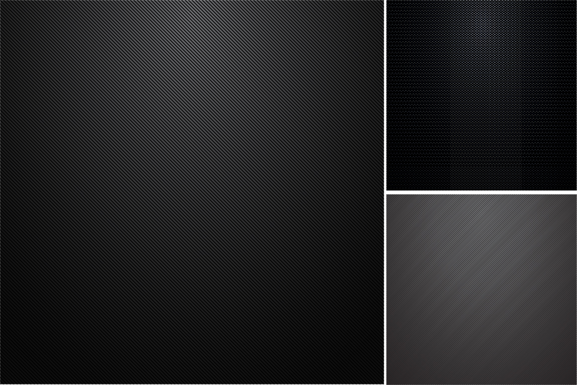 Collection of dark metal textures. example image 2