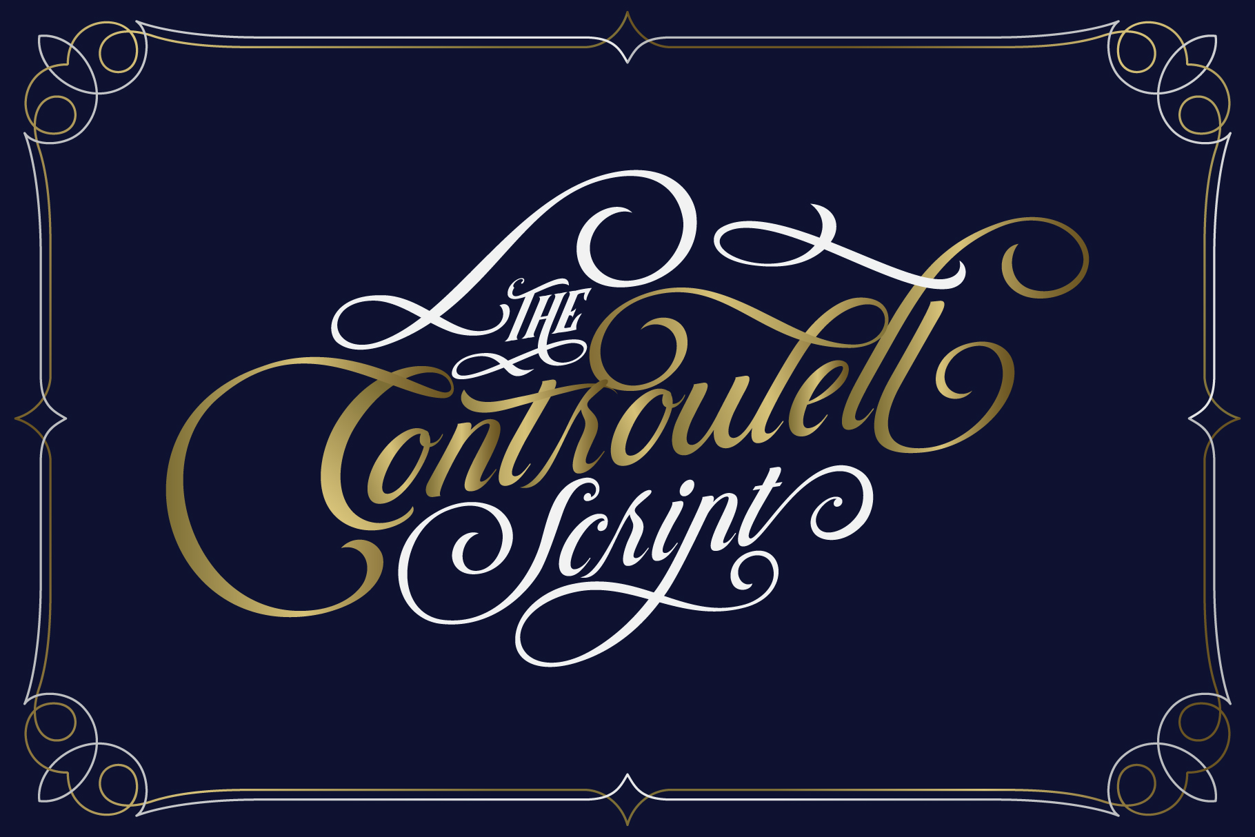 Controwell Victorian Typeface example image 5