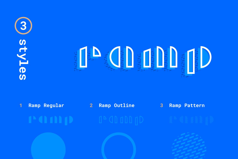 Ramp Display Font example image 4
