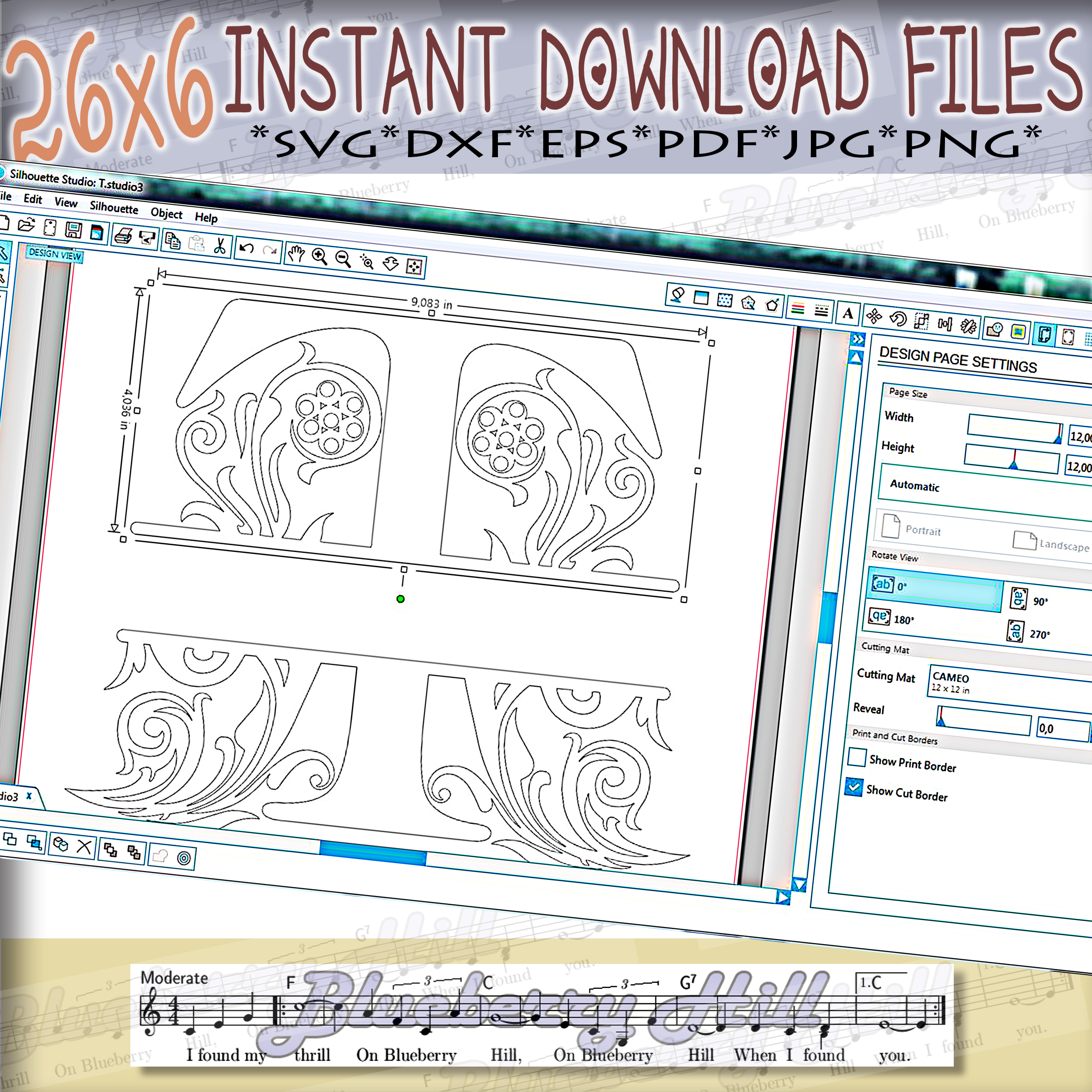 Regal Split Monogram Letters SVG - Regal Letters cut files example image 5
