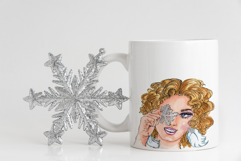 Snowflake Girl example image 2