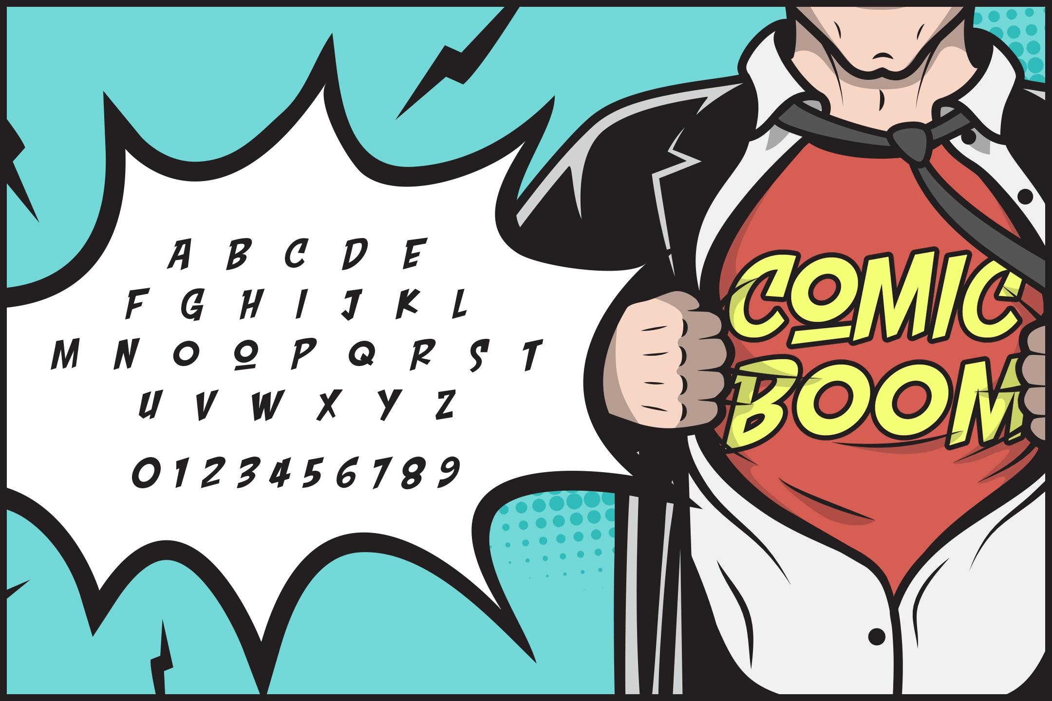 Comic Boom example image 2