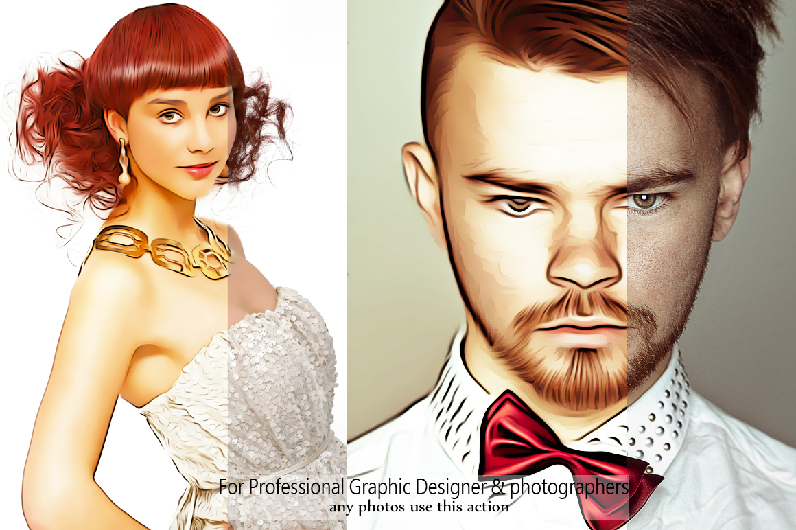Realistic Oil Painting Effects - Photoshop Action v.5 example image 2
