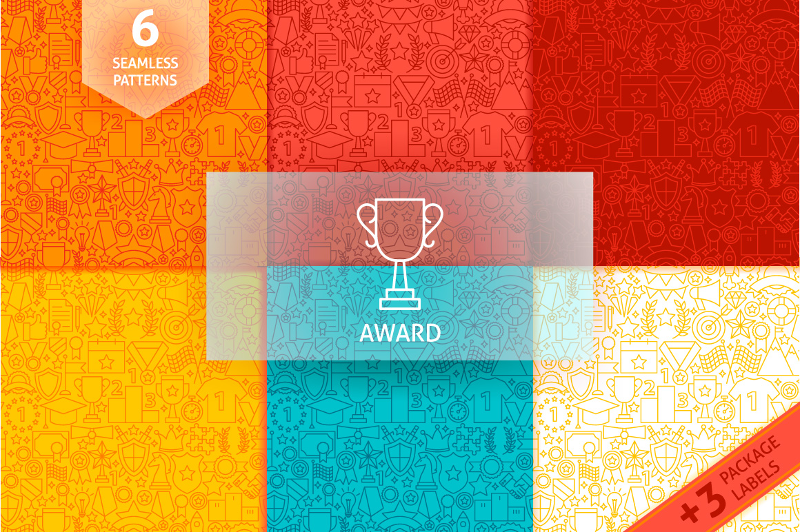 Award Line Tile Patterns example image 1