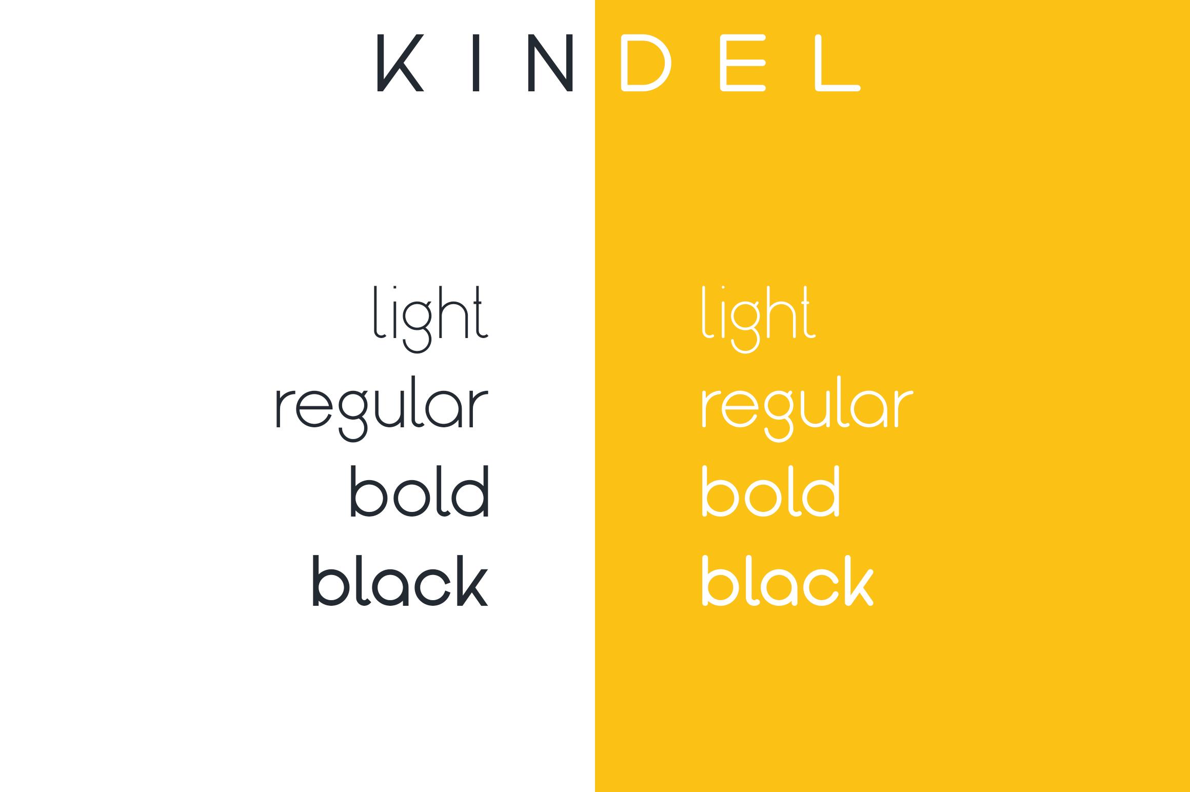 Kindel - Sans Serif Typeface example image 2