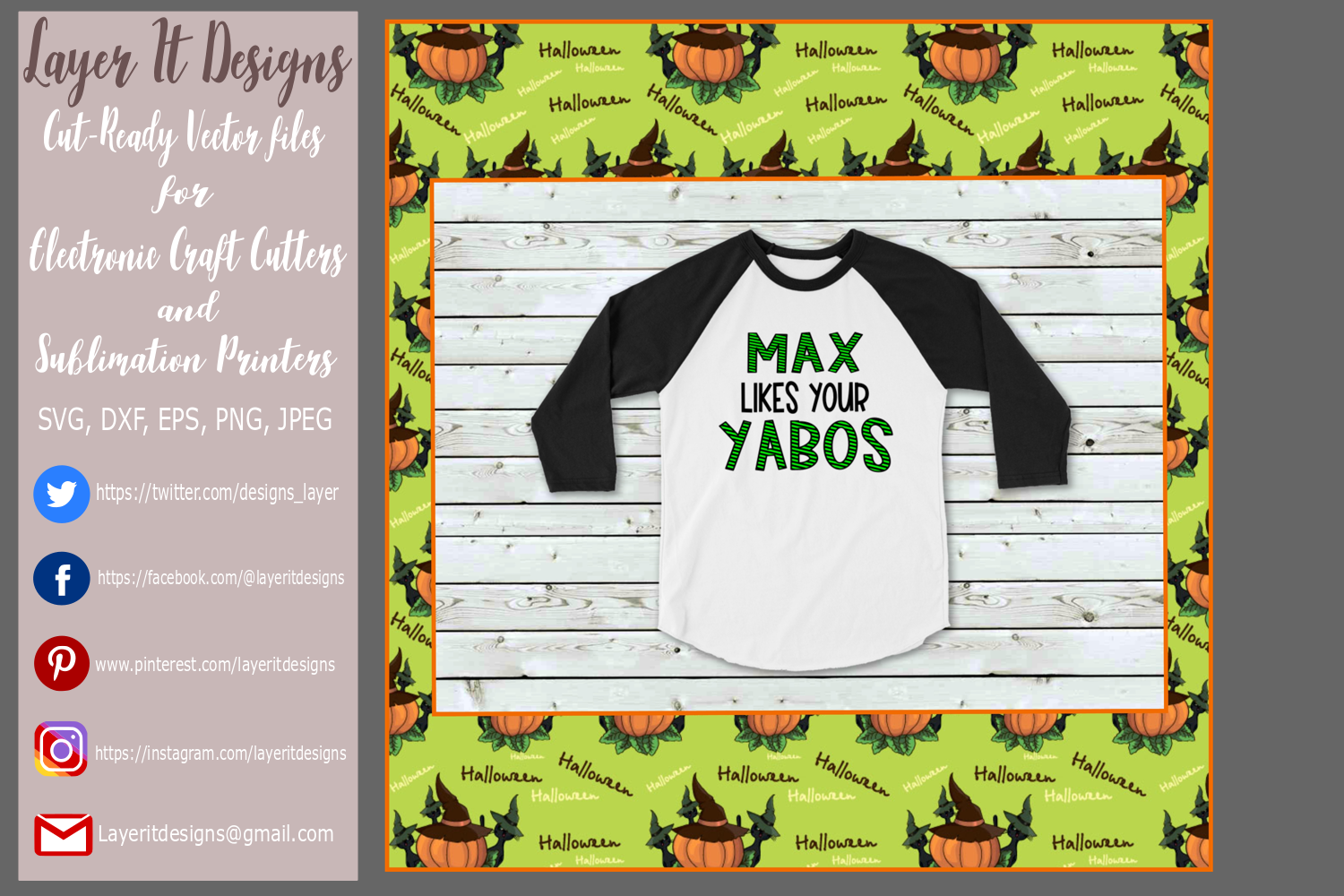 Max like your Yabos Design File example image 2