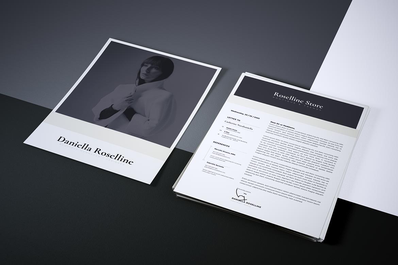 Minimalist CV / Resume Template Vol. 05 example image 7