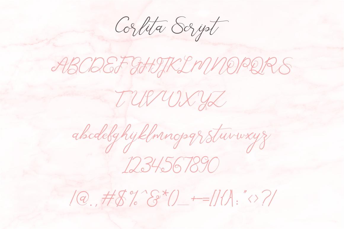 Corlita - Font Trio example image 8