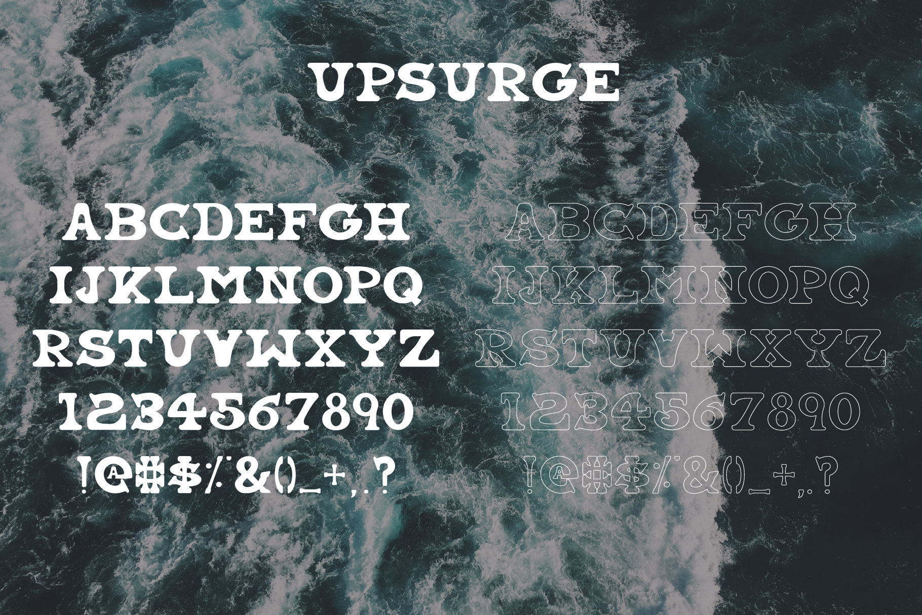 Coastal Fever - Font Package & Beach Textures example image 4