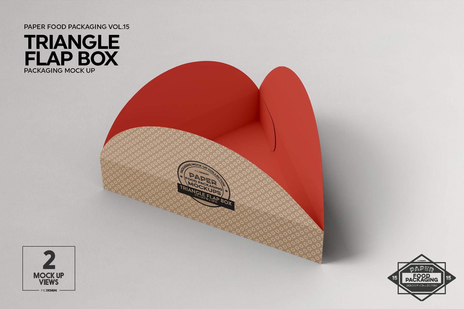 VOL.15 Food Box Packaging MockUps example image 10