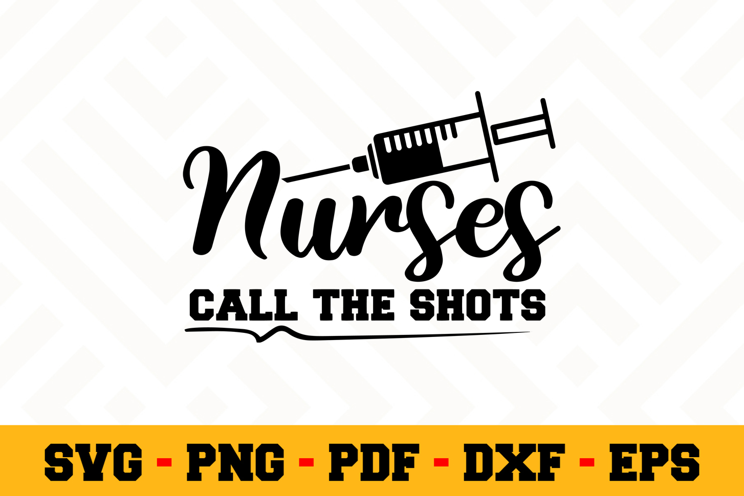 Nurse SVG Design n597 | Nurse SVG Cut File example image 1