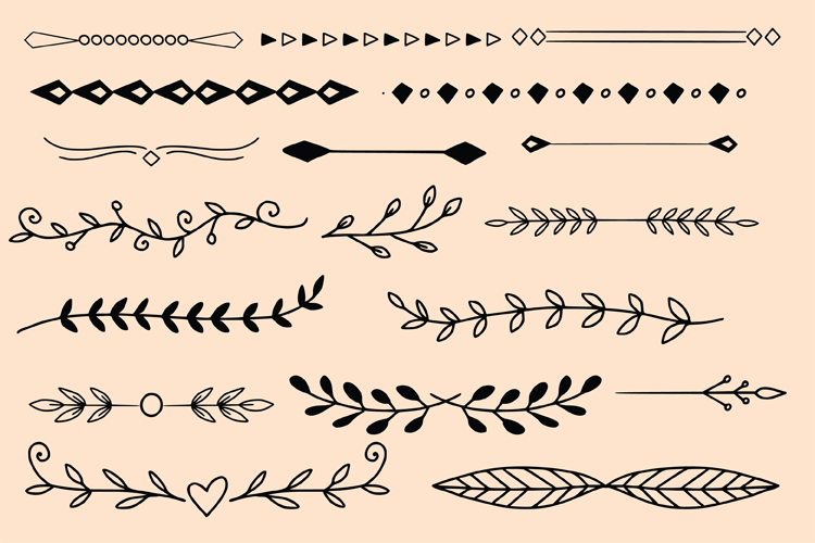 Dividers And Leaves example image 3