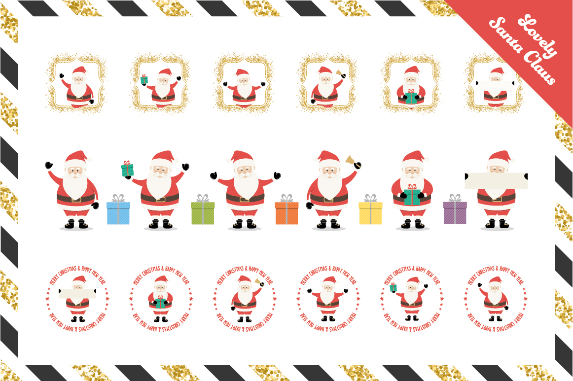 Ultimate Vector Christmas Collection example image 11