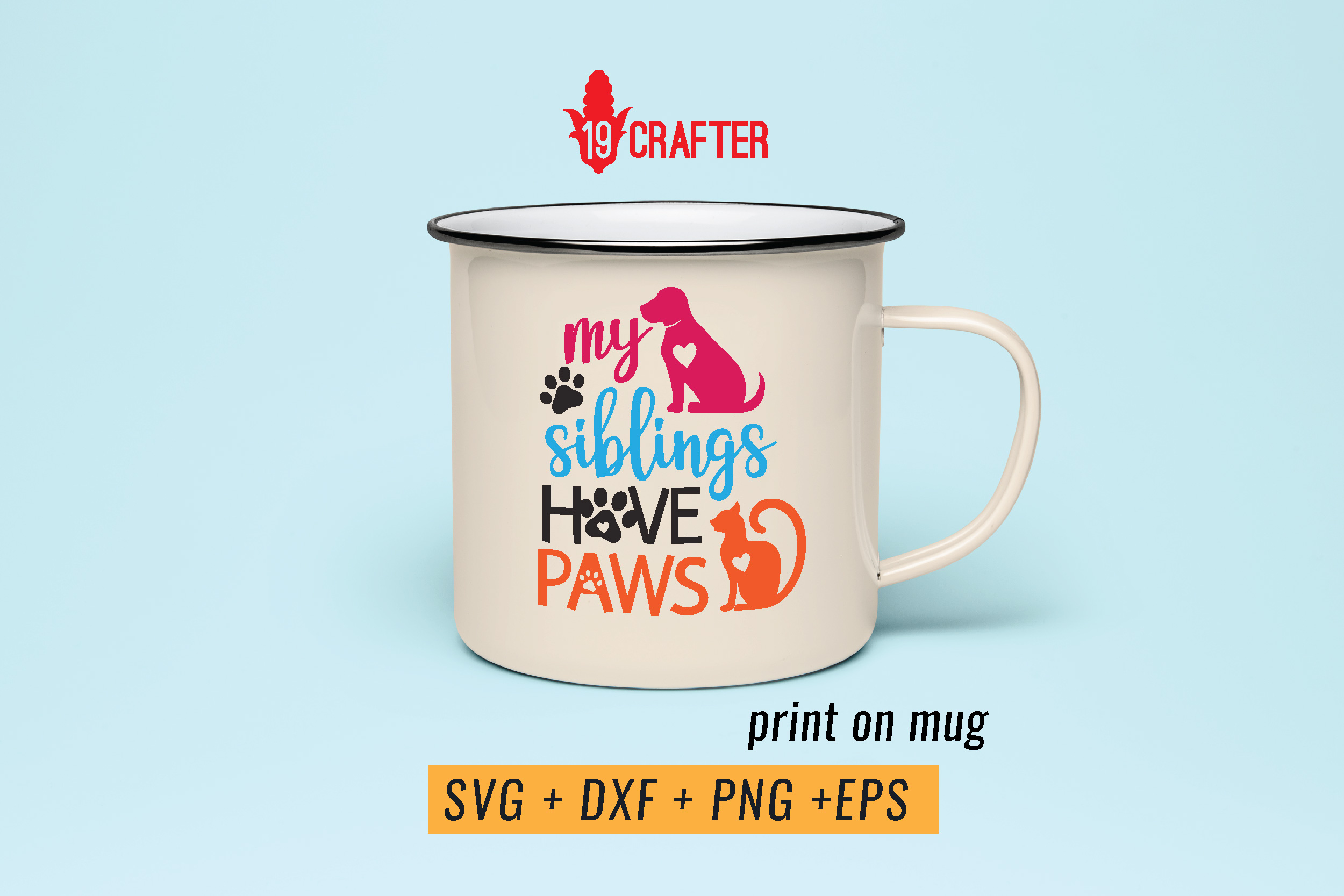 my siblings have paws svg cut file example image 4