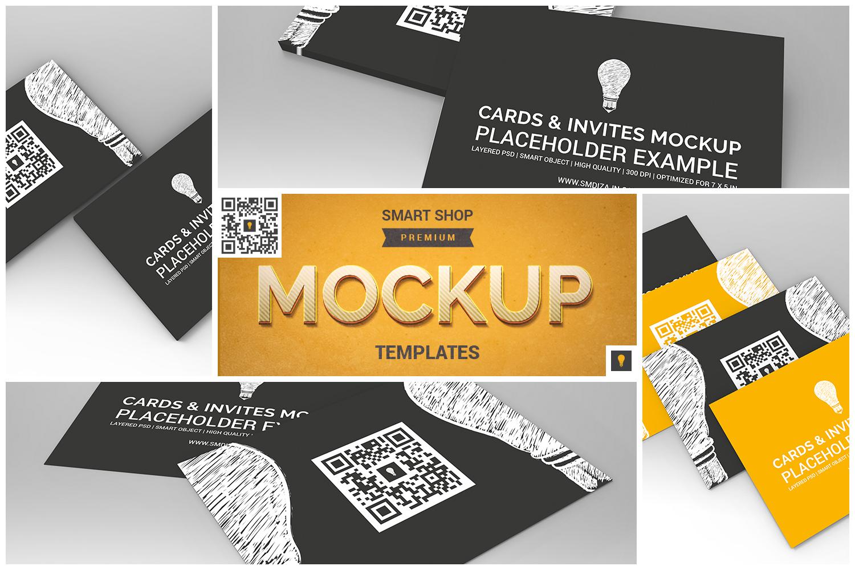Invitation Card Mockup example image 1