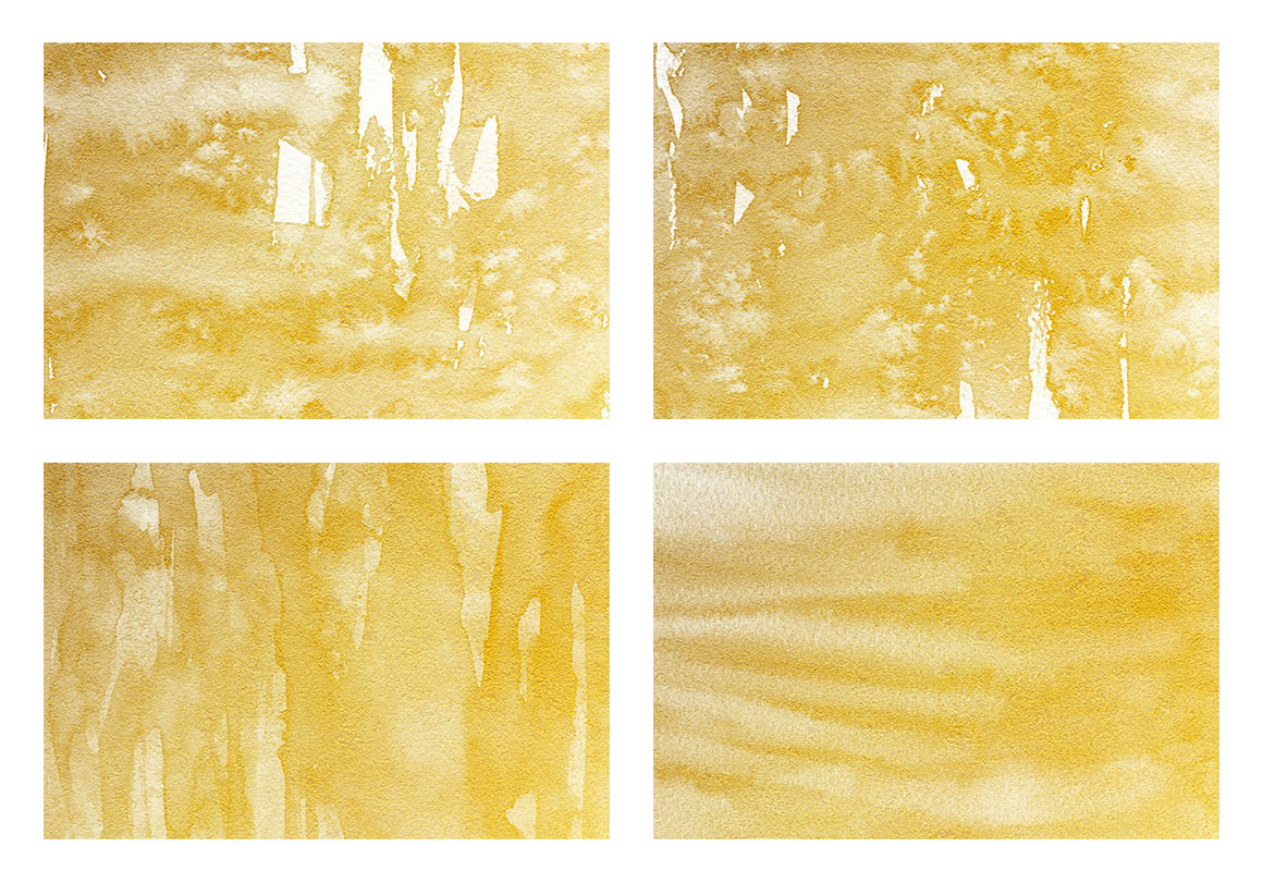 Watercolor Textures White and Gold example image 10