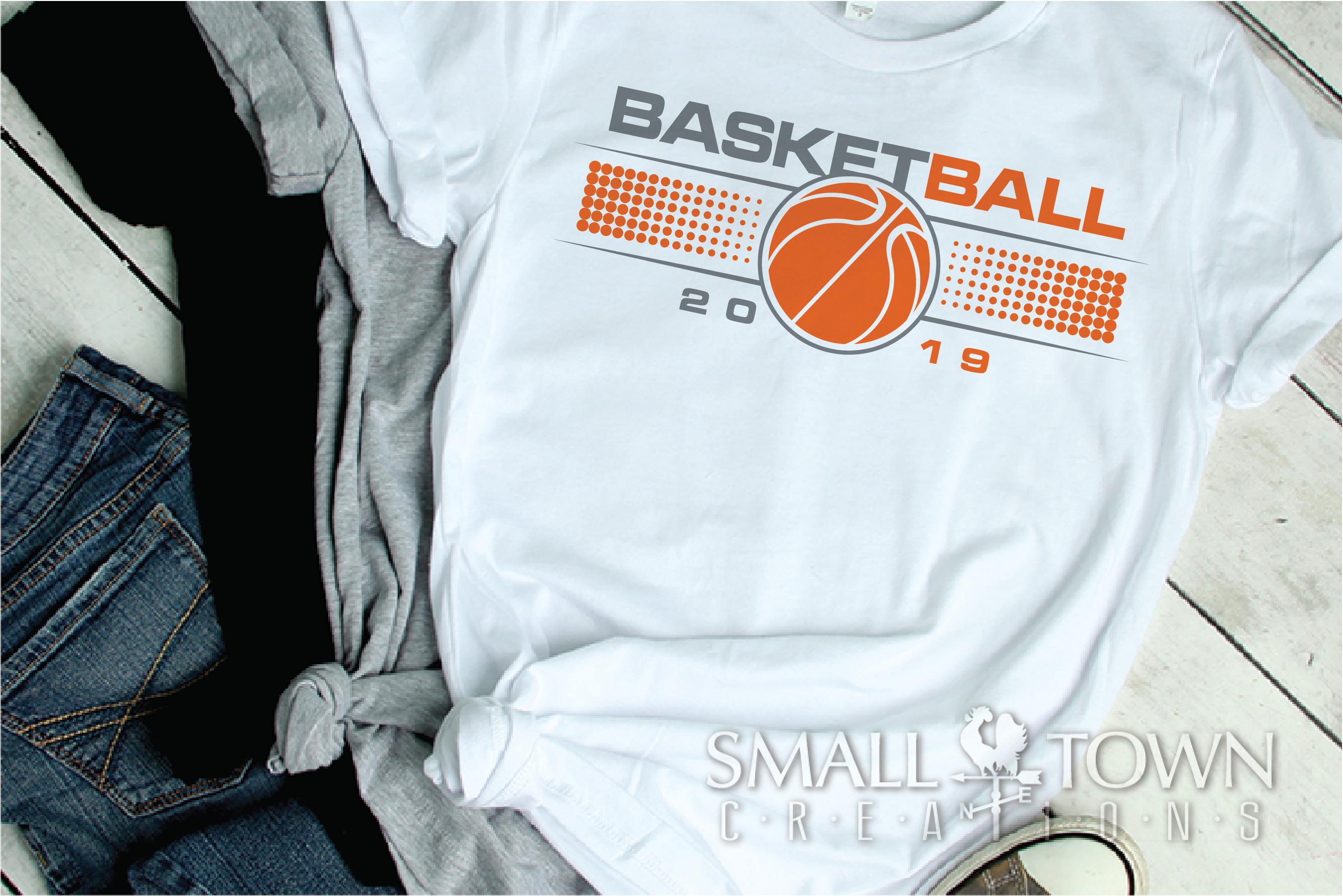 Basketball, Sports ball, sport team logo, PRINT, CUT, DESIGN example image 4