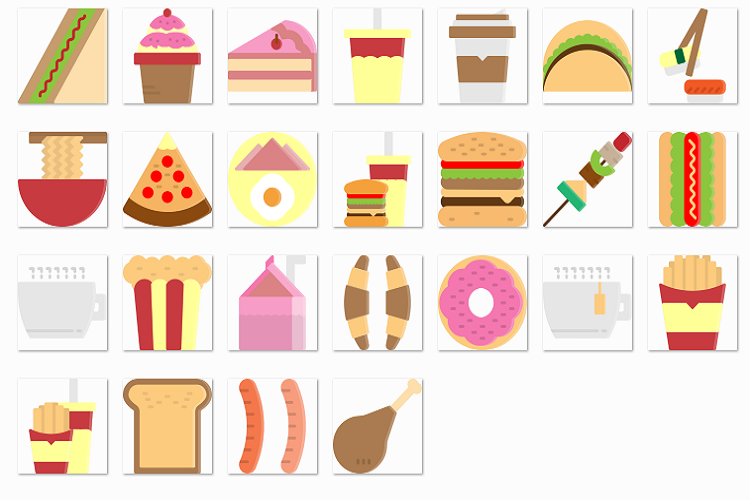 Fast food filled example image 1