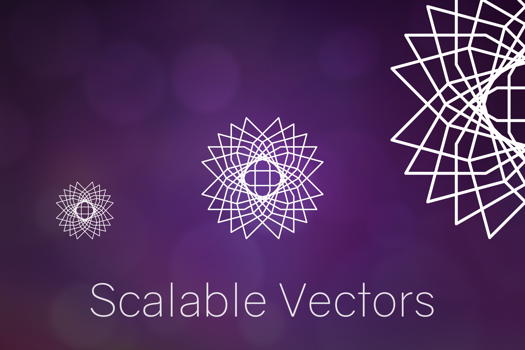 Sacred Geometry Vector Shapes Set example image 10