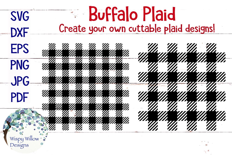 Buffalo Plaid SVG Bundle example image 1