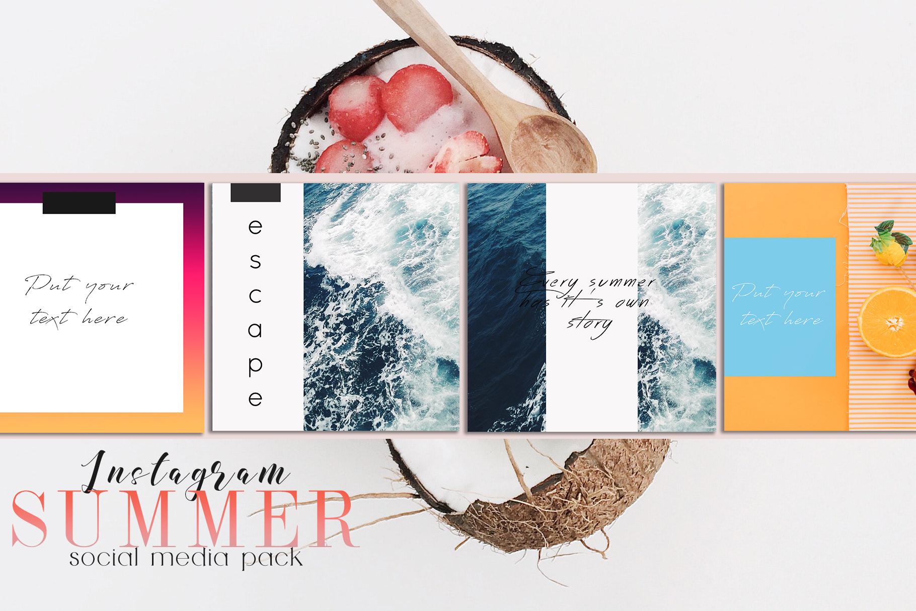 Sweet Summer Instagram Pack example image 6