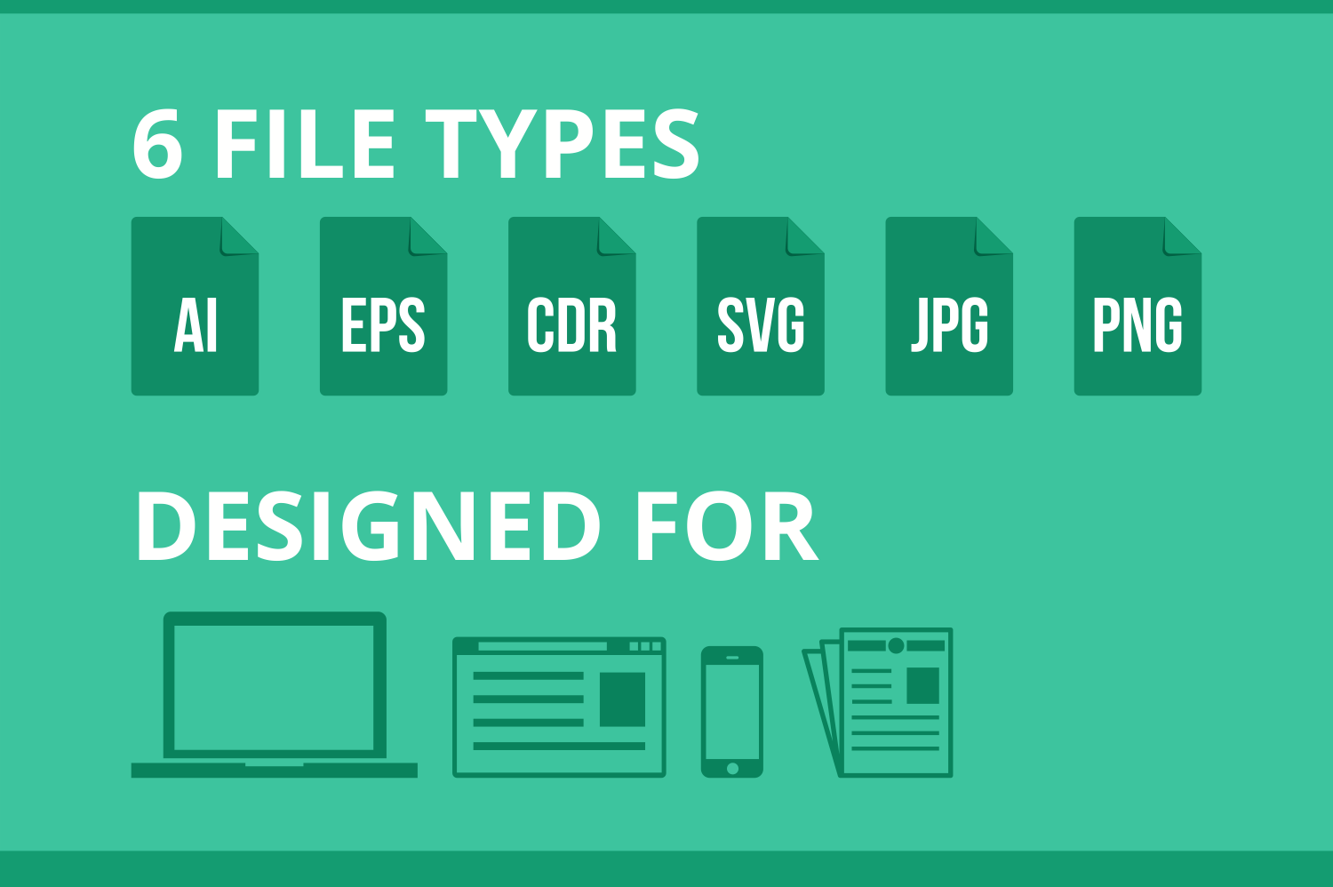 150 IT Services Flat Icons example image 5