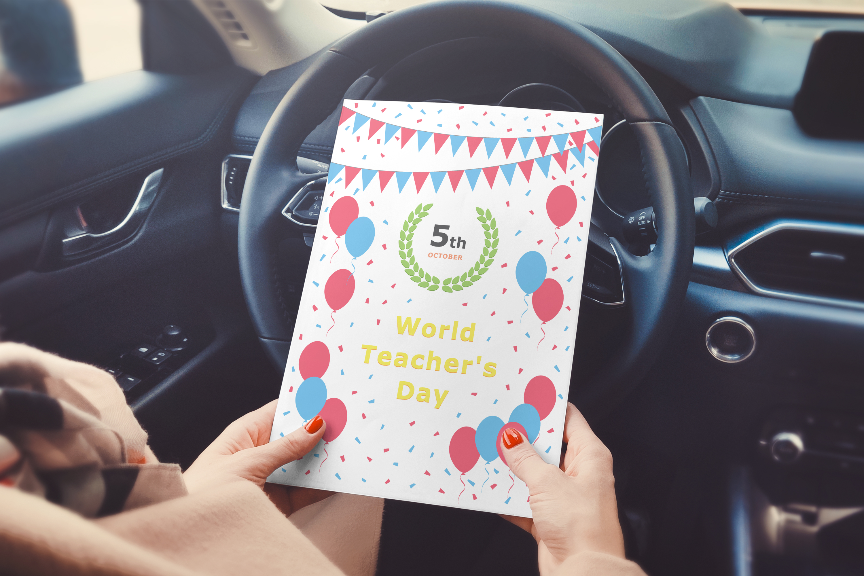 World Teacher's Day - October 05 example image 3