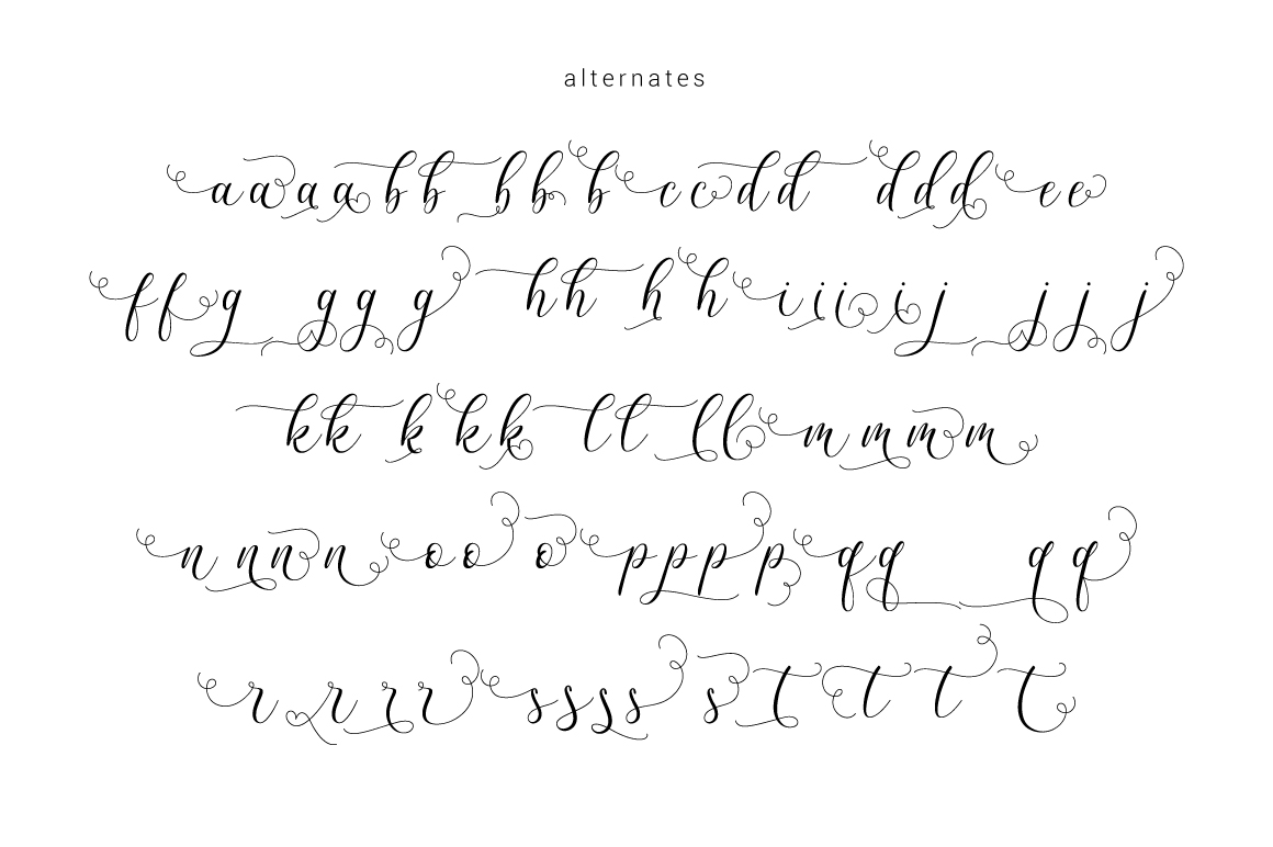 Billaneiva Typeface example image 6