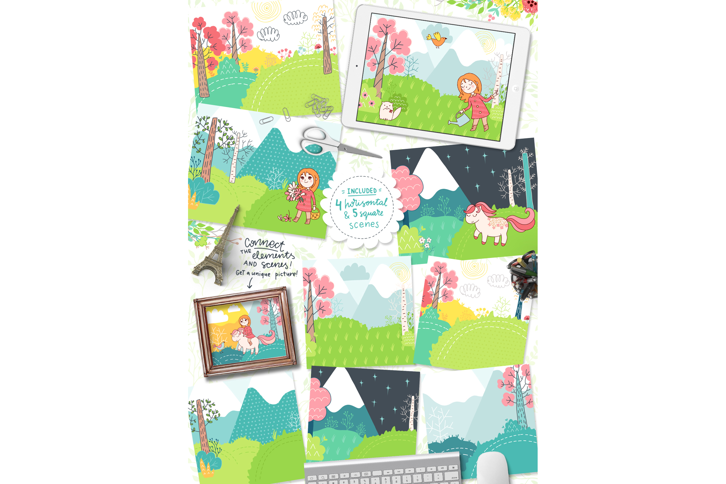 Spring is Here! Graphics & Patterns example image 14