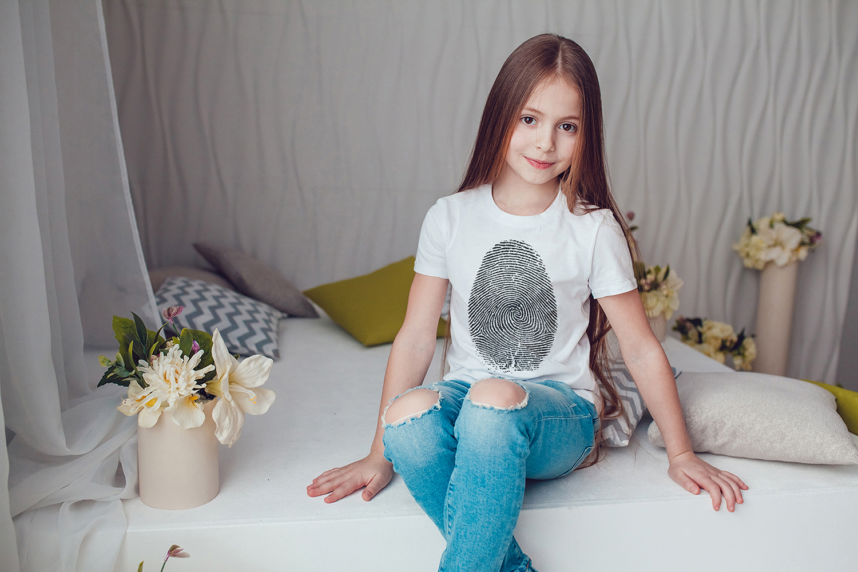 Kids T-Shirt Mock-Up Vol.1 2017 example image 8