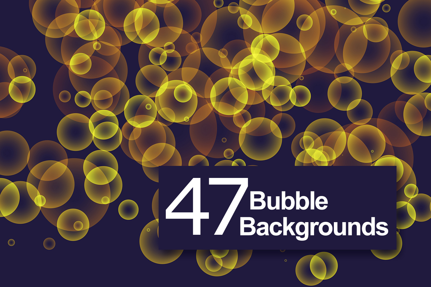 47 Bubbles Backgrounds example image 1