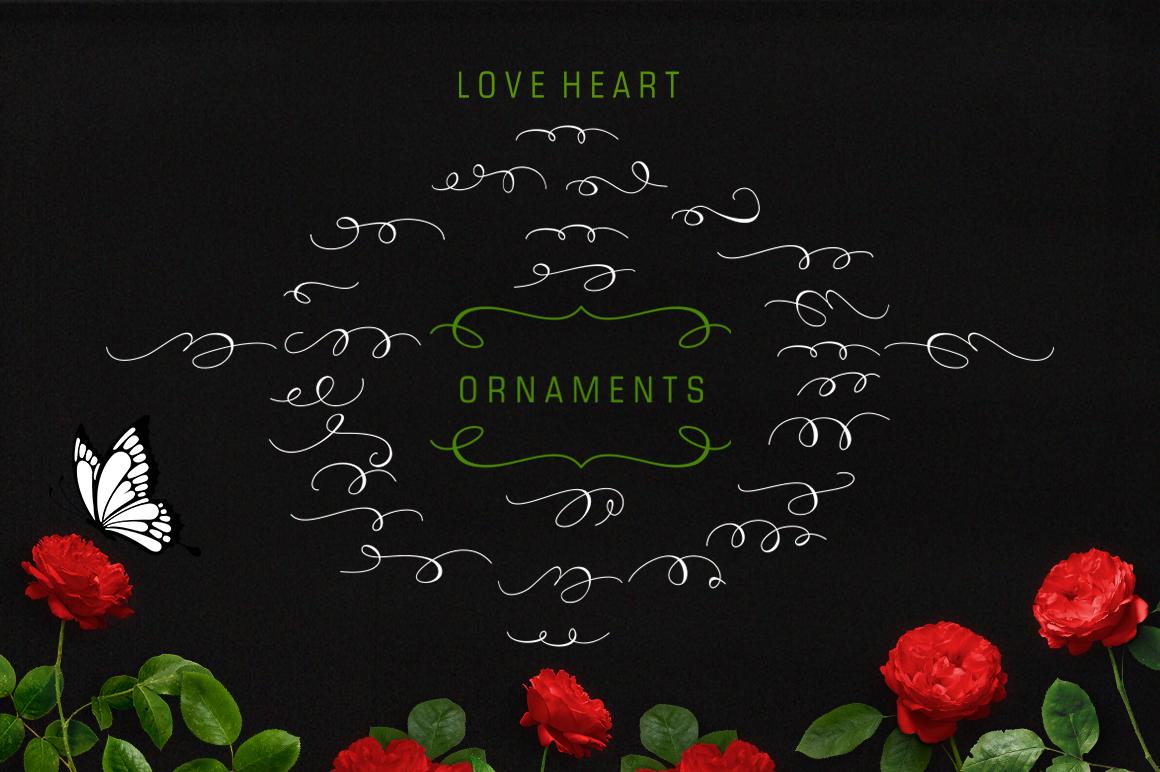 Love Heart Plus Ornament example image 6