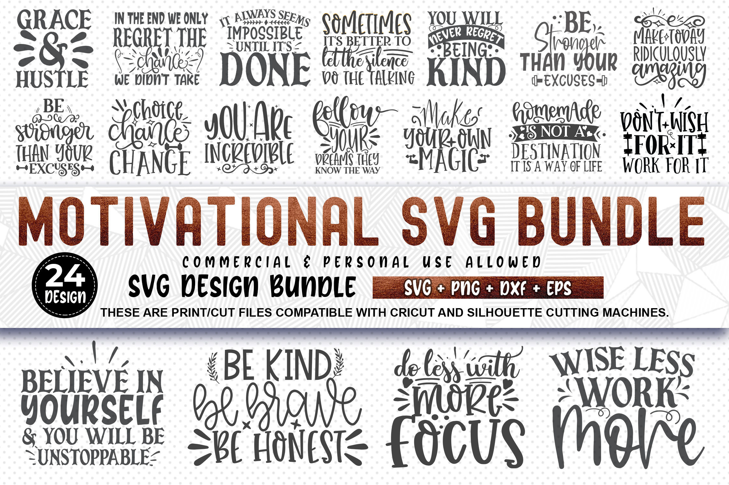 510 SVG DESIGN THE MIGHTY BUNDLE |32 DIFFERENT BUNDLES example image 16