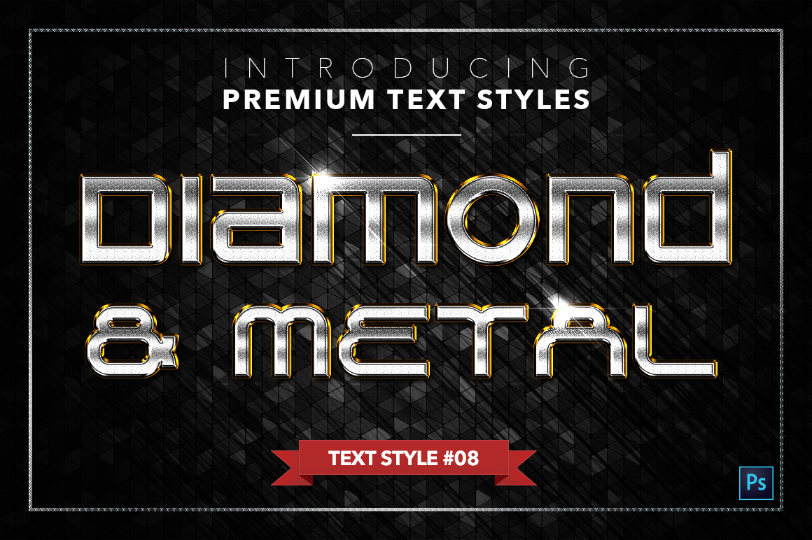 Diamond & Metal #3 - 18 Text Styles example image 9