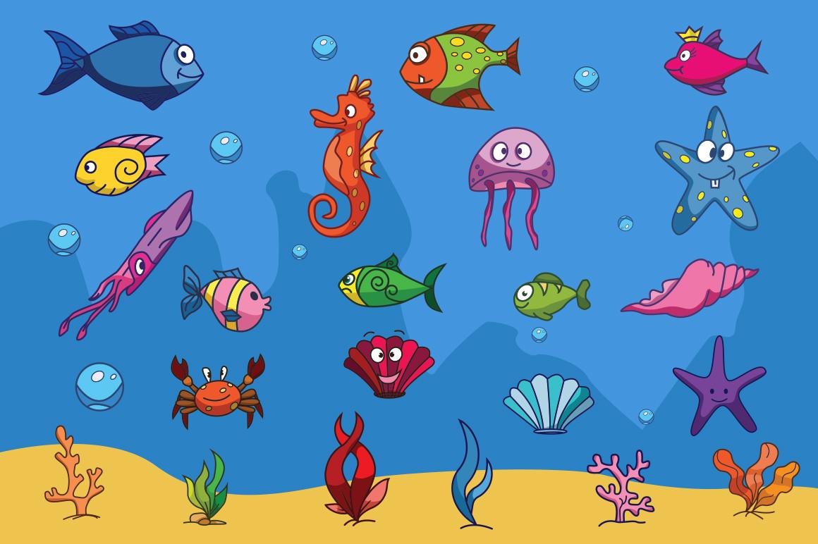 Cartoon Characters & Items Bundle example image 9