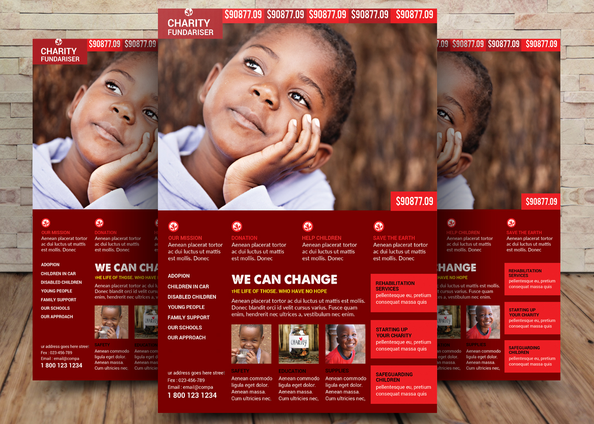 Charity Bundle Flyer 2in1 example image 2