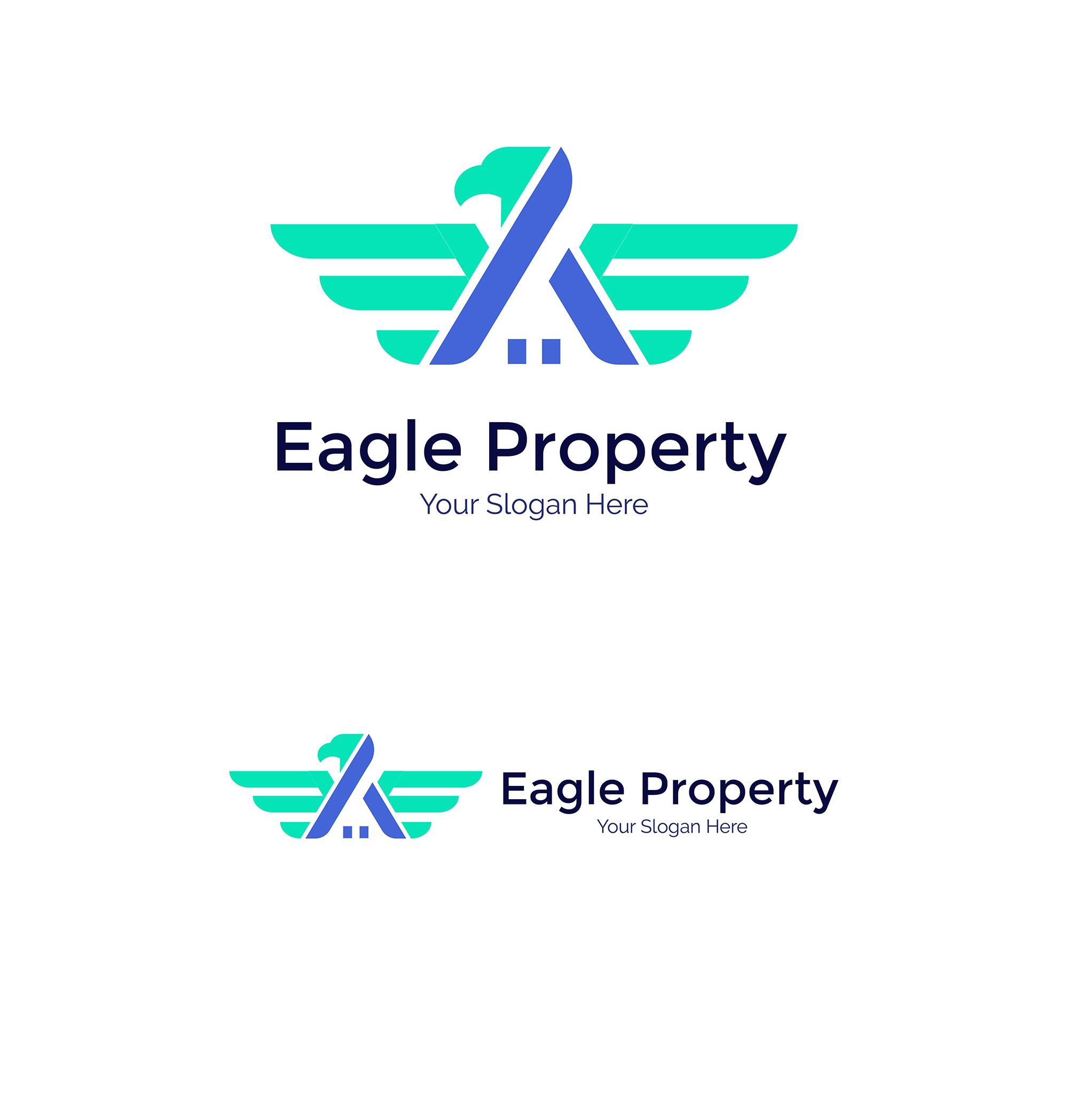 Eagle Construction Logo - Animal logo example image 6