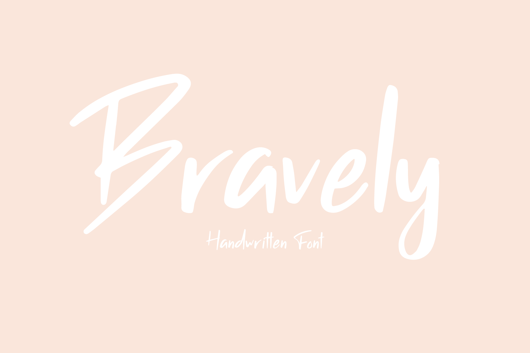 Bravely - Handwritten Font example image 11
