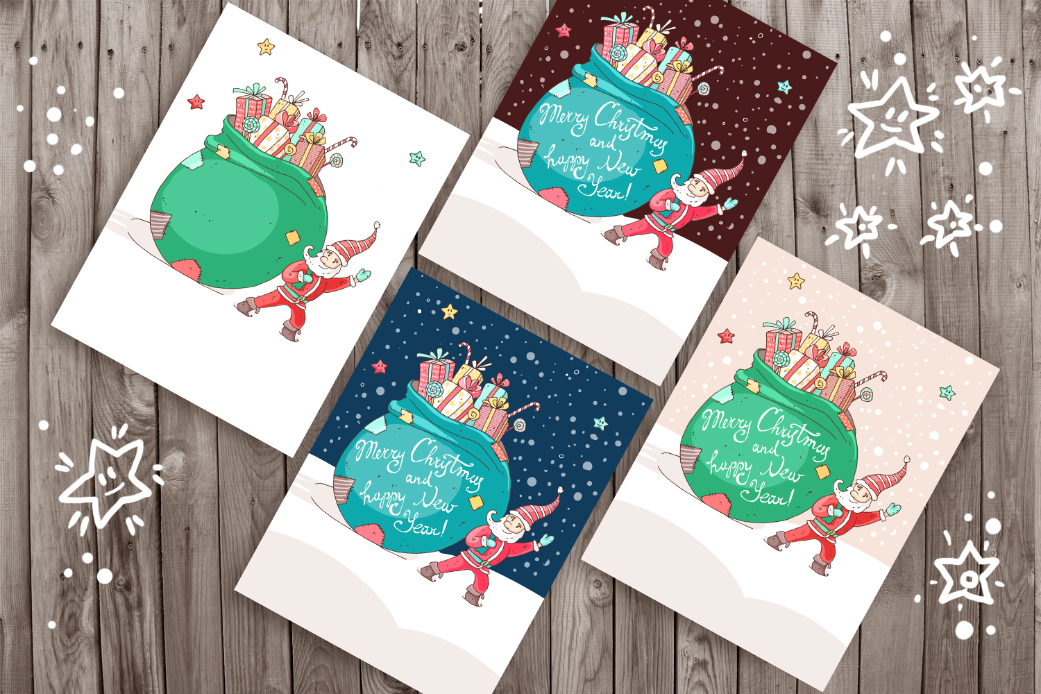 Winter Greeting Cards example image 4