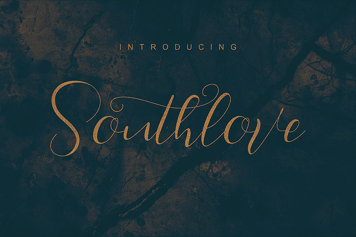 Southlove Script Font example image 5