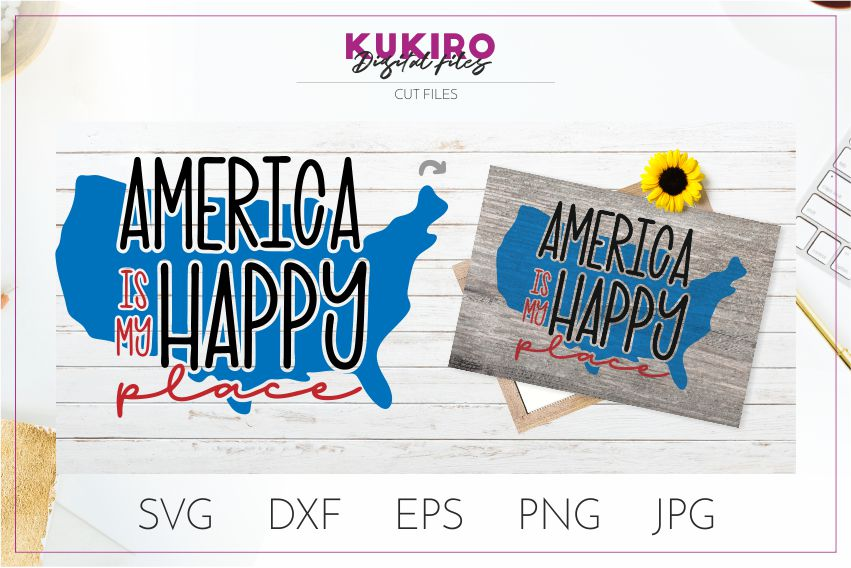4th of July Bundle SVG - Big Patriotic Cut files Bundle example image 22