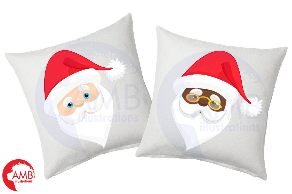 Santa claus emoji, Santa claus emoticons, AMB-2697 example image 4