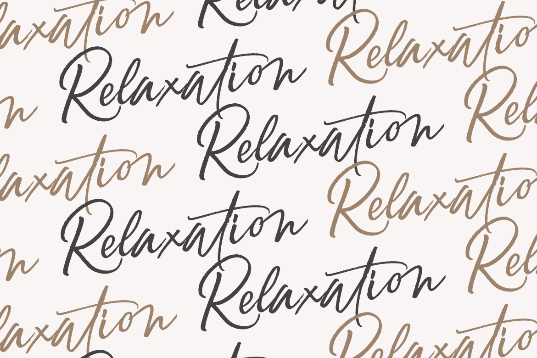 Relaxation // An Elegant Brush example image 3