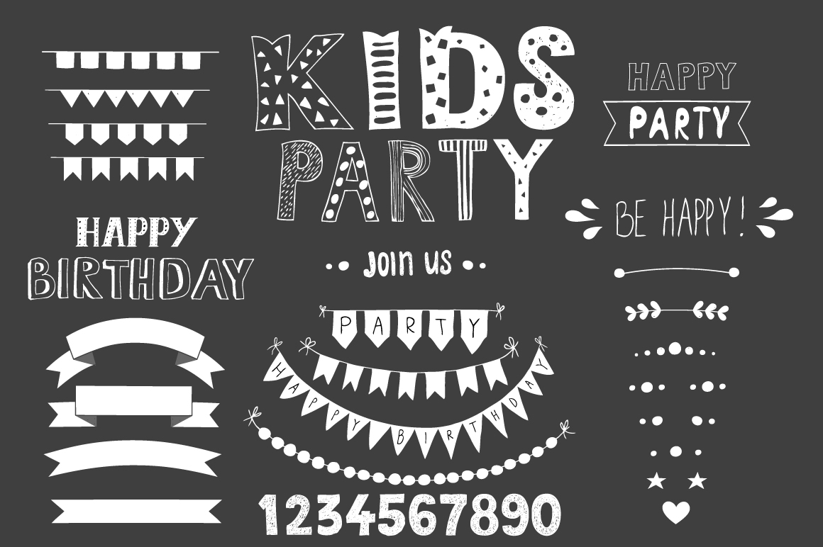 KIDS Party! Huge bundle example image 10
