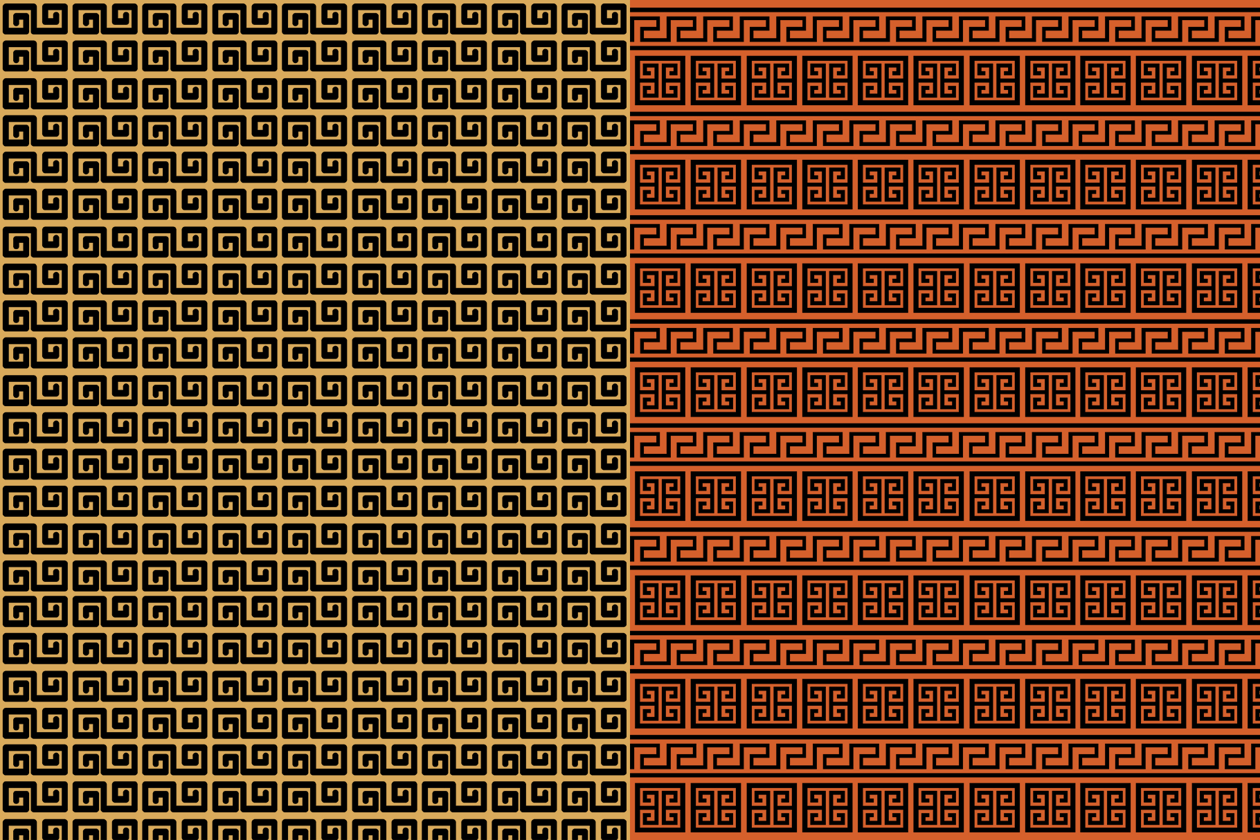 10 Ancient Greek Seamless Patterns example image 7