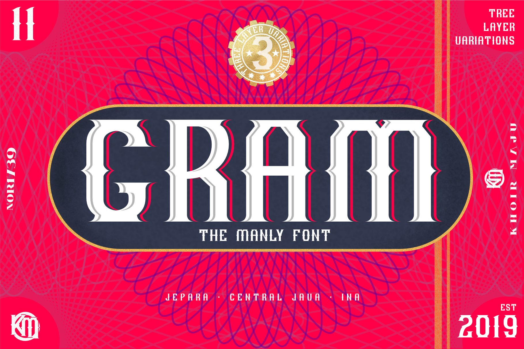 GRAM - New Font Display example image 1