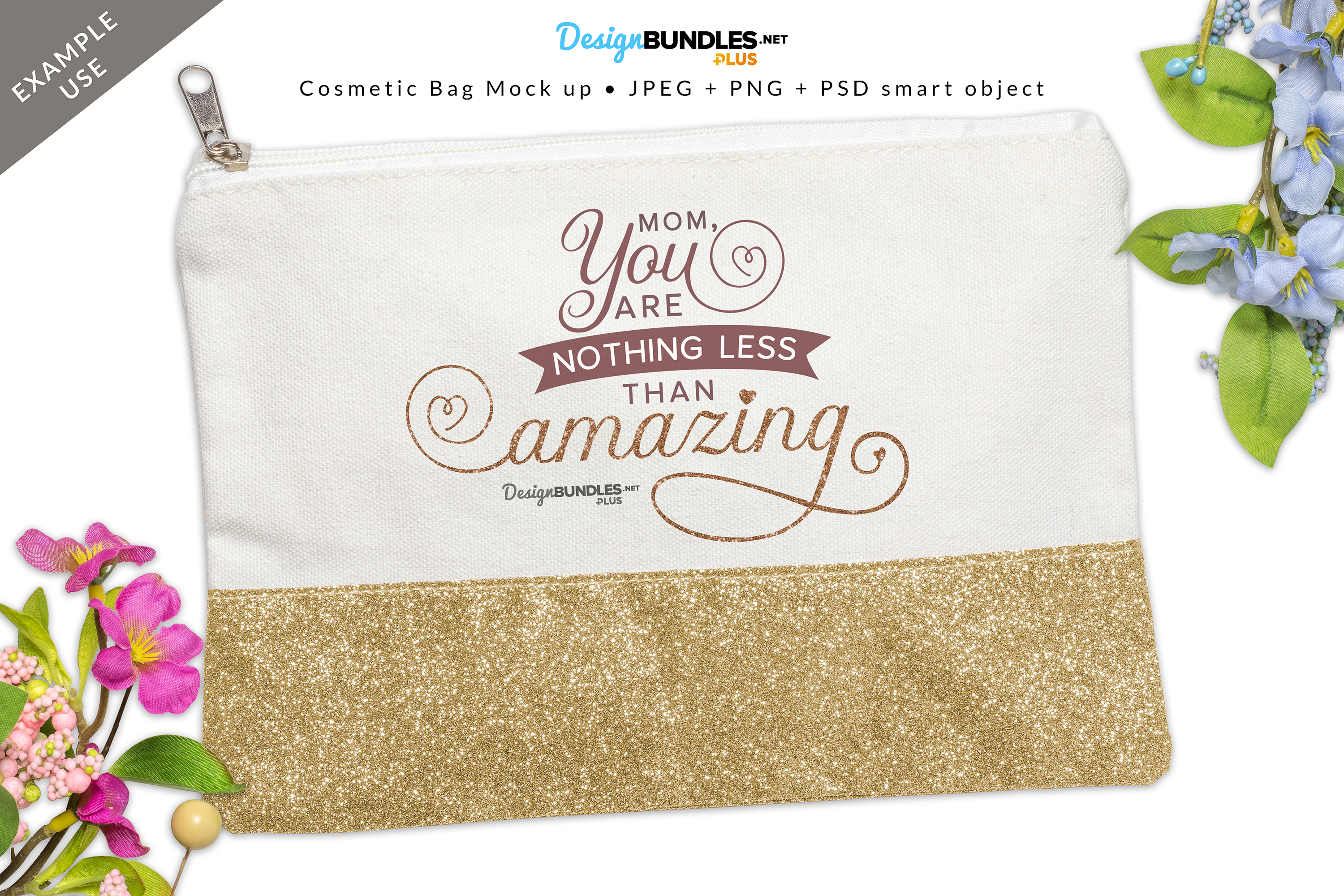 Cosmetic Bag Mock up example image 2