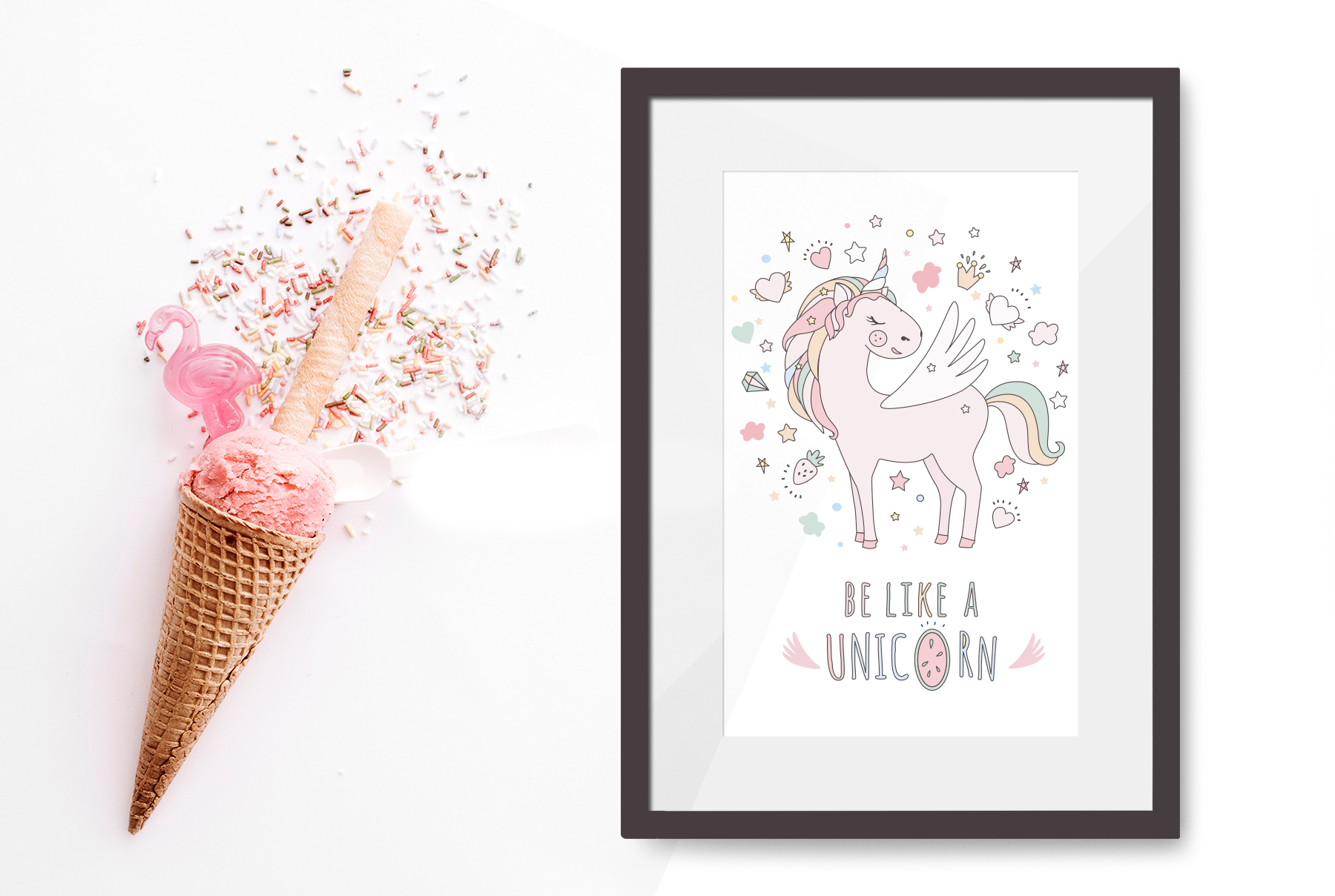 Magical collection of unicorns example image 7